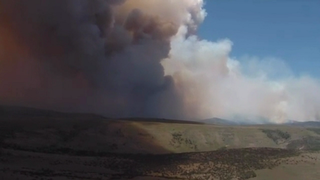 Cooler weather may help battle Utah wildfire