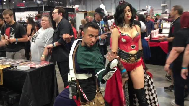 Locals showcase their creations at Comic Con