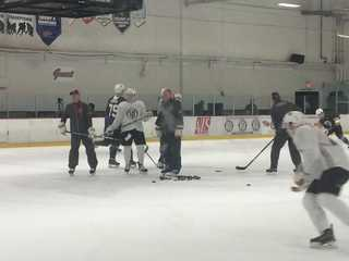 Golden Knights hit the ice for development camp