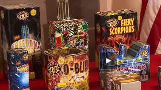 Legal fireworks go on sale ahead of 4th of July