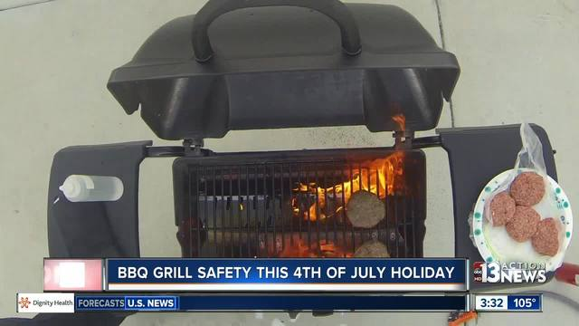 Tips for safe grilling this summer