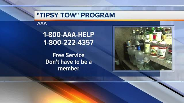 AAA Offers Tipsy Tow on July 4