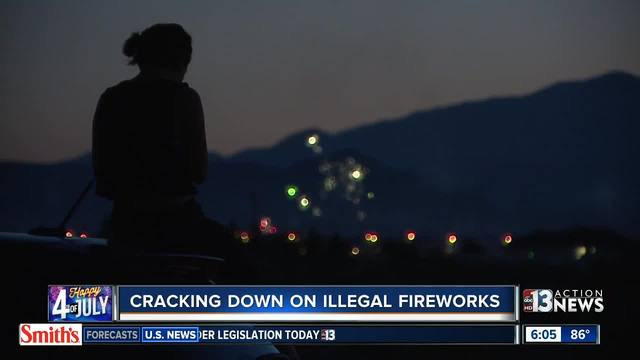 Clovis Fire & Police cracking down on illegal firework users