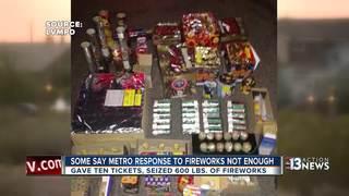 Police, public disagree over fireworks crackdown
