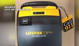 Defibrillators being placed at Las Vegas fields
