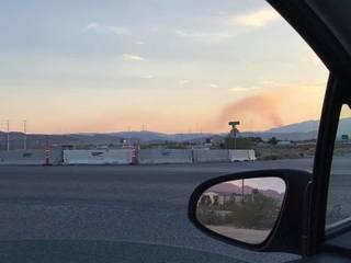PHOTOS: July 2017 Potosi Fire on Potosi Mountain