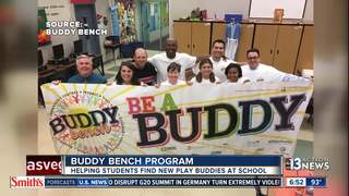 Buddy Bench program helping students across CCSD