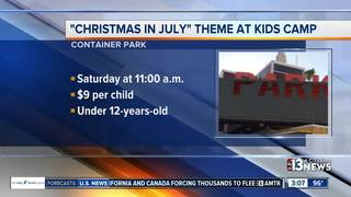 Christmas in July at Downtown Container Park