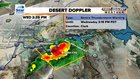 Rain, hail hit Las Vegas area again Wednesday