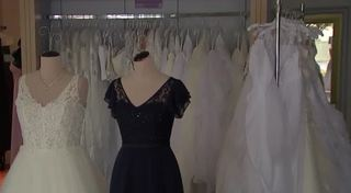Employees caught off guard as bridal shop closes