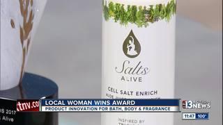 Local woman wins award for bath, body, fragrance