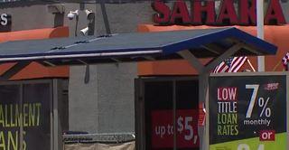 Construction temporarily moves Vegas bus stop