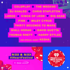iHeartRadio Music Festival performers announced