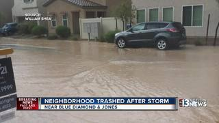 Neighbors worried about roads flooding