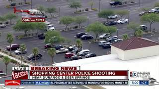 Police brief press on Centennial Hills shooting