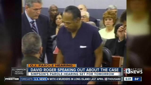 OJ Simpson's hearing before Nevada parole board