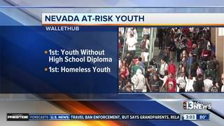 Nevada high on list with most at-risk youth