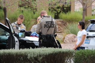 Four protesters detained at Sen. Heller's office
