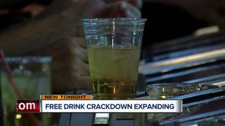 Free drink crackdown spreading to local casinos