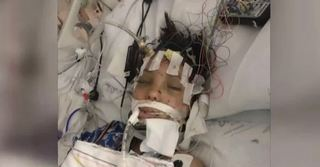 Girl released from hospital months after crash