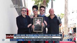 Criss Angel gets star on Hollywood Walk of Fame