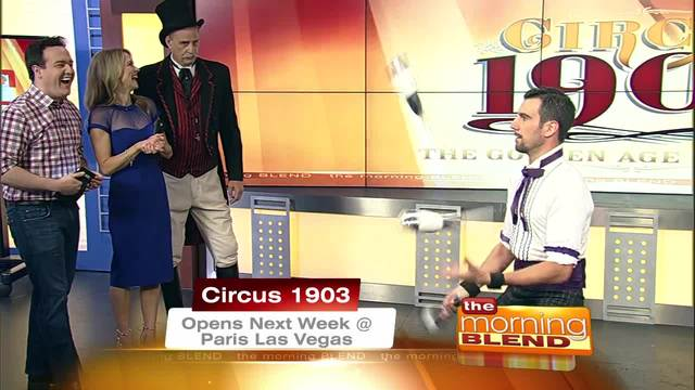 Circus 1903 Premieres On The Las Vegas Strip