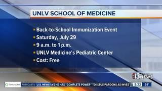 UNLV hosts free immunization event