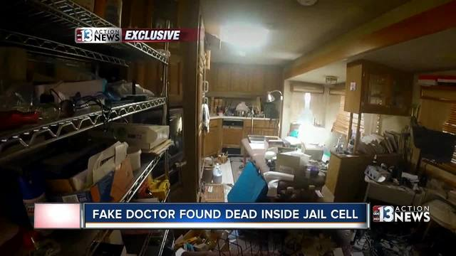 Fake doctor found dead inside detention center
