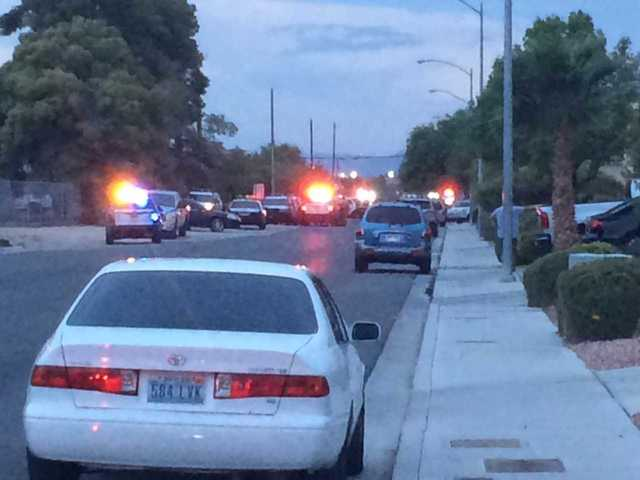 2 shot in officer-involved shooting in North Las Vegas