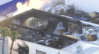 Man loses everything in massive business fire