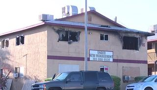 Fire destroys several Henderson apartments