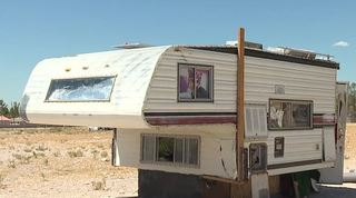 Neighbors worried about smelly camper trailer