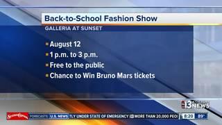 Back-to-School Fashion Show