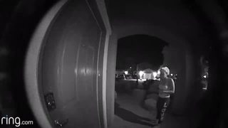 Early-morning doorbell ringer asks for bread