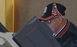 Hackers break into voting machines