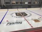 Vegas Golden Knights' practice rink gets ice
