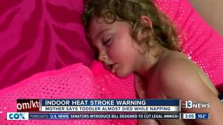 Mom says child almost died of heat during nap