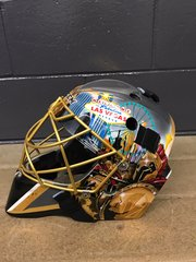 PHOTOS: Marc-Andre Fleury's Vegas-themed mask