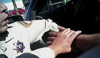 Dramatic body-cam footage shows police shootout