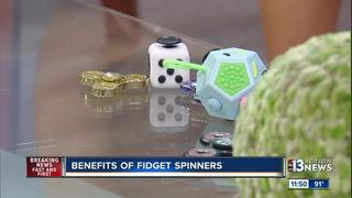 Brian Patchett talks benefits of fidget spinner
