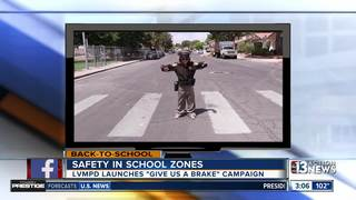 LVMPD's new back-to-school safety campaign