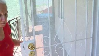 Fight over security doors could lead to eviction