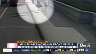 Arrest in case of woman pushed in front of bus