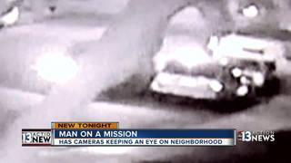 Home camera captures car being set on fire