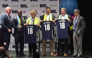 Las Vegas professional soccer team seeks name