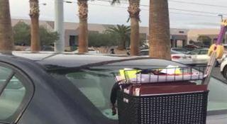 Teacher's car, school supplies stolen