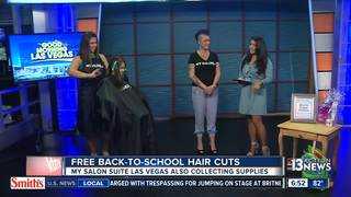My Salon Suite offers free hair cuts