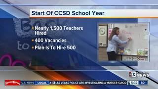 CCSD hires 1,500 teachers over summer