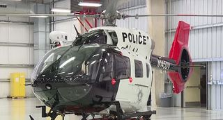 Las Vegas police unveil new helicopter