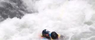 VIDEO: Amazing rescue on Alaska river